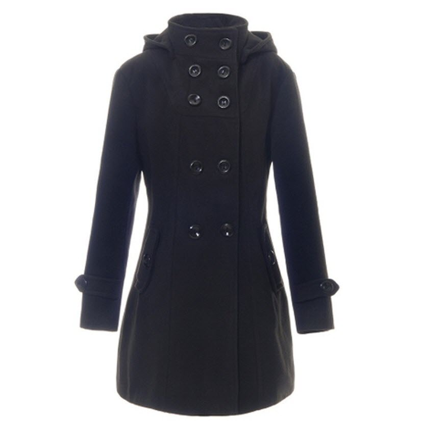 Good Quality Lady Long Winter Jackets Parka Coats ...