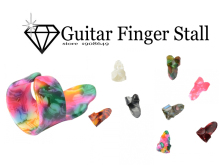 Muse-NEW High Quality Wearable Celluloid Guitar Forefinger Pick Guitar Finger Stall (Random Delivery)wholesale suppliers(China)