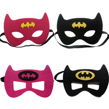1pc Batman Mask Superman Wonder Woman The Flash The Dark Knight DC Justice League Kid Birthday Gift Cosplay Party Decor Supplies