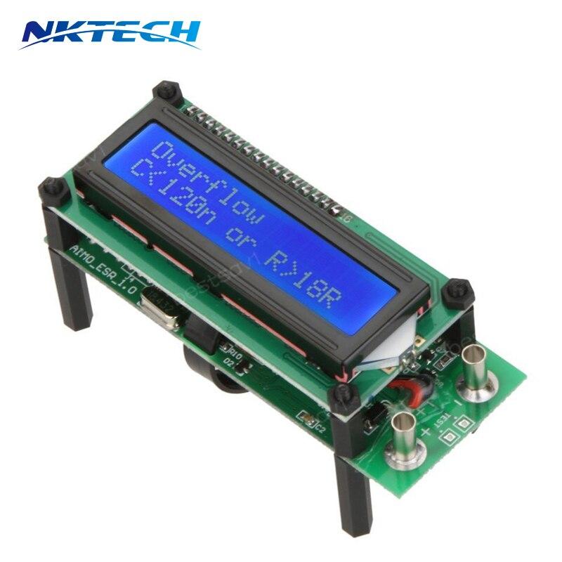 ESR01 Auto Range Digital LCR Tester Resistance Capacitance Inductance Measurement Capacitor ESR Meter USB power<br><br>Aliexpress