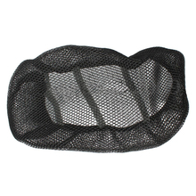 Promotion! 3D Black Motorcycle Electric Bike Net Seat Cover Breathable Protector Cushion(China)