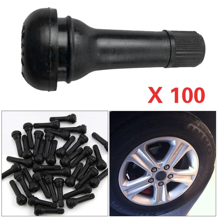 10 x TR414 TUBELESS SNAP IN RUBBER TYRE VALVES GREAT QUALITY GREAT LOW PRICE