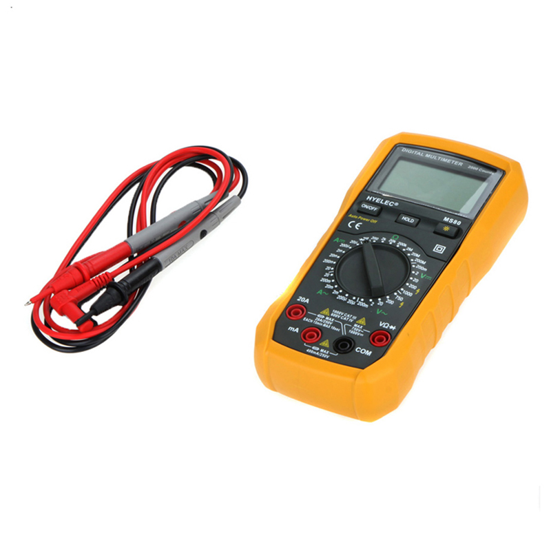 Digital Multimeter Ammeter Multitester/Back Light Multimetro LCR Meter MS80 PEAKMETER<br><br>Aliexpress