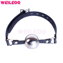 Buy wild type metal open mouth gag ball adult sex toys bdsm bondage set fetish slave bdsm sex toys couples adult games
