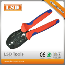LY-02H coaxial crimping plier for non-insulated cable terminal and connectors crimping pliers Electrical Connector Crimping Tool