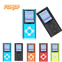 MP3 Music Player 4TH gen 32GB 9 Colors Music playing time 10 Hours FM Radio Ebook Game Voice Recorder Sport player 4th player
