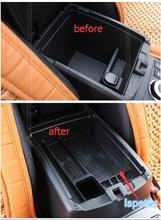 High Quality For Nissan X-Trail X Trail T32 Rogue 2014 2015 2016 2017 Black Central Storage Pallet Armrest Container Box(China)