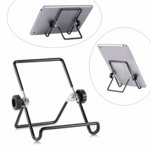 Multi-angle Adjustable Portable Foldable Metal Non-slip Stand Holder for iPad Tablet