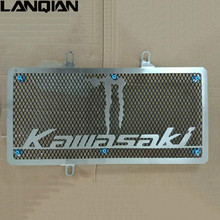 Motorcycle Stainless Steel Radiator Guard Protector Grille Grill Cover For Kawasaki NINJA 650 ER6F ER6N 2012 2013 2014 2015 2016