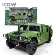 KDW 1:18 Scale Diecast Alloy Metal Model Military Armored Battlefield Vehicle Collection Gifts Soldiers Car Truck Toy Boy Kids(China)