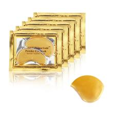 10pcs=5packs 2017 Gold Crystal Collagen Eye Mask Hot sale Eye Patches For The Eye Anti-Wrinkle Remove Black Eye Face Care Mask