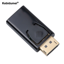 Kebidumei Display Port Male DP to HDMI Female cable Converter Adapter For PC Notebook Laptop Macbook Projector(China)
