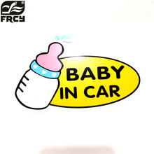 hot selling Reflective car baby car warning car stickers KIA rio/VW/mazda/mitsubishi//lada/opel/skoda/bmw/audi/toyota
