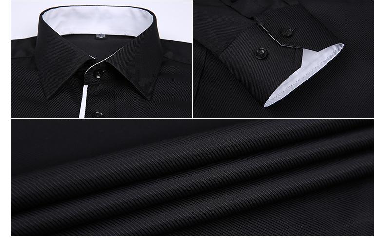 Dudalina Camisa Male Shirts Long Sleeve Men Shirt Brand Clothing Casual Slim Fit Camisa Social Striped Masculina Chemise Homme 12