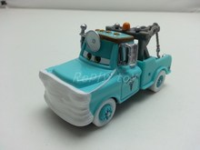 Pixar Cars Race Team Dr.Mater With Mask Up Metal and plastic metal Diecast Toy Car 1:55 Loose Brand New In Stock & Free Shipping