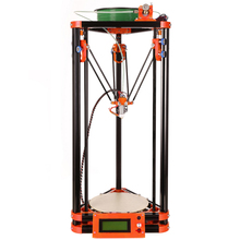 Ship from Russian Extruder Reprap Delta Printer n 3D Printing High Resolution Impressora Heated Bed 3D 3d printer