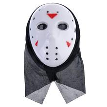 Jason X Mask with Black Kerchief Hockey Scary Masks For Party Women Masquerade Costumes