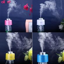 USB Portable Mini Water Bottle Cap Humidifier DC 5V Office Home Air Diffuser Aroma Mist Maker with Absorbent Filter Sticks Hot(China)
