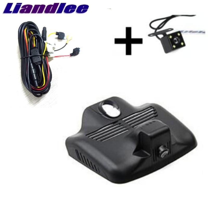 Liandlee For Mercedes Benz C MB W204 2007~2014 Car Black Box WiFi DVR Dash Camera Driving Video Recorder 12