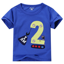 Boys Clothes Children T shirts 2017 Summer Brand Boys T-shirts Kids Clothes Letter Pattern Baby Boys Tops&Tees Clearance Sale