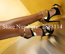 Sexy Ankle Strap Fish Toe Platform Stiletto High Heels Pumps Mixed Colors Leather Patched Sexy Buckle Summer Party Pump Shoes