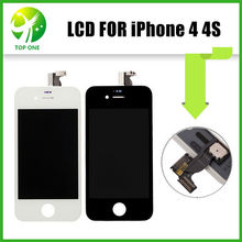 20pcs Original Replacement Screen For iPhone 4 4S LCD Screen and Digitizer Assembly with Frame by DHL(China)