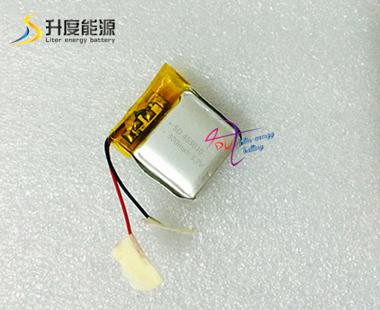 SD 3.7v lithium polymer battery 453030 300mah polymer lithium battery<br><br>Aliexpress