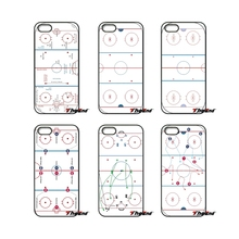 For iPod Touch iPhone 4 4S 5 5S 5C SE 6 6S 7 Plus Samung Galaxy A3 A5 J3 J5 J7 2016 2017 Ice Hockey Playground space Case Cover