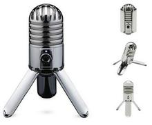 Original Samson Meteor Mic Studio Recording Condenser Microphone Fold-back Leg with USB Cable Carrying Bag for computer(China)