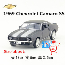 RMZCity/1:36 Scale Toy/1969 Chevrolet Camaro SS Vintage/Diecast Metal Car Model/For Collection/Gift/Kid/Special/Educational