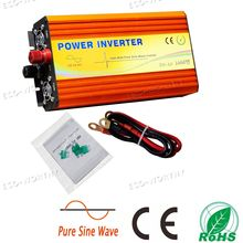 1000W Off Grid Pure Sine Wave Inverter 12V/110V With MPPT Fit for RV Boat