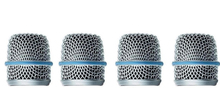 4 PCS Microphone Grille Mesh Replacement Head Ball for Shure Beta57 Mic System