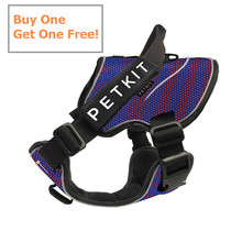 Buy One Get One Free!!! Fashionable Dog Harness For Large Dogs Collar Leash With Car Seat Belt Decompression Adjustable Rope