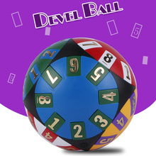 New 3 Difficulty Devel Ball Educational Kids Toys Creative Competitive Hexahedron Magic Cube Ball Variety Puzzle Number Fun Toys
