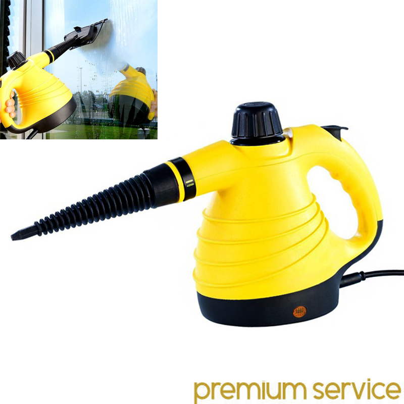 Handheld Steam Cleaner 100W Portable Handheld Vacuum Cleaner Wet Fashion promotion Portable ultra-quiet vacuum cleaner EU plug<br>