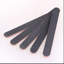 1PCs/Lot Double Sided Sanding Nail File Grits 100/180 Straight Edge Stick,Nail Art Salon Glitter Tools(China)