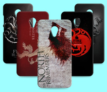 Ice and Fire Cover Relief Shell For Meizu Meilan U10 U20 Cool Game of Thrones Phone Cases For Meilan E M3E