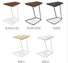 Tempered glass bedside table Creative Coffee Table Living room Side tables(China)