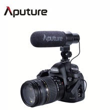 Big Promotion! Aputure V-Mic D1 Directional Condenser Microphone for Canon Sony Panasonic DV Camcorder With Low-cut filter(China)
