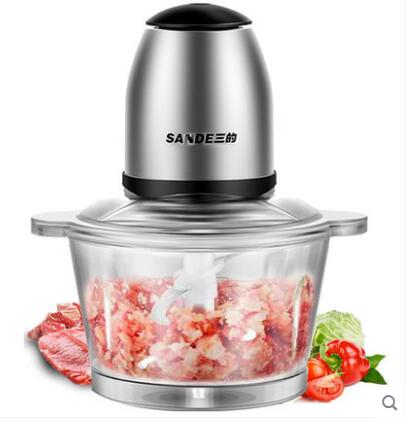 Multifunction stainless steel Household Electric Meat Grinder, vegetable cutter, sausage maker dogmeat,mincer,kitchen appliance<br>