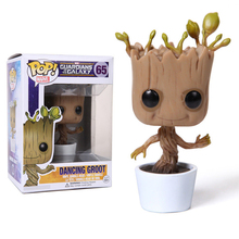 DIWEINI Guardians of the Galaxy Vol. 2 Tree man Groot Baby Dancing Action Figure Great for display on desk Window box packaging