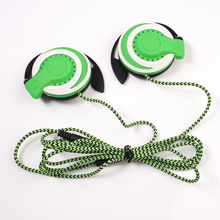Best Quality Headphones 3.5mm Headset EarHook Earphone For Mp3 Player Computer Mobile Telephone Earphone