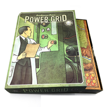 Power Grid  Board Game English Version ,Basis+Expand Cards Game ,Germany + United States Map With English Instructions