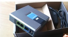 LINKSYS PAP2T-NA SIP VOIP Phone Adapter VoIP phone Linksys PAP2T Internet Phone Adapter Two Phone Ports adapter