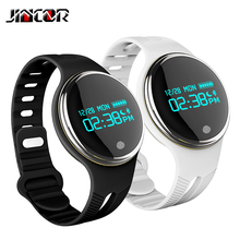 JINCOR fashion smart Bracelet E07 Bluetooth movement tracking Bracelet reminder function remote control and multi movement mode