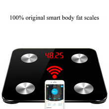 Hot 12 Body Index Smart weight Scale household bathroom weighing scales floor electronic digital balance Support Bluetooth APP - Xun Mai Xi Store store