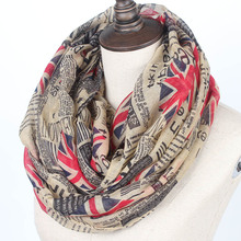 England schal newspaper infinity scarf women winter brand british flag scarves prices in euros echarpes foulards femme bufandas