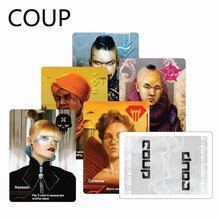 Full English Coup, Board Game,Party card Game suitable for family(China)