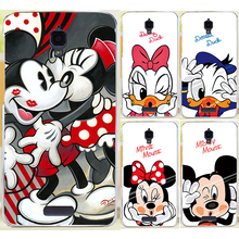 New Design Cute Cartoon Mickey Mouse Donald Duck PC Phone Case Capa For Lenovo S660 Painted Cover Shell Hood(China)