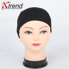 Cheap weaving caps spandex dome wig cap for making wigs black weave cap invisible hair net nylon stretch wig net cap 5or10/Lot